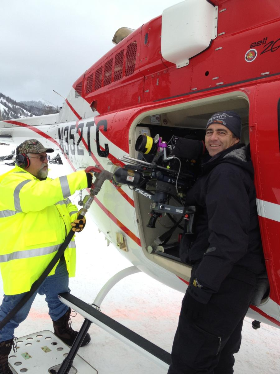 Carisch Tyler Mount Snow Helicopter Filming